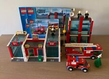 LEGO 7208 City Fire Station No Box 100% Complete