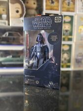 Star Wars Black Series Carbonized Darth Vader Amazon 40th Anniversary