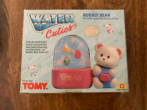 Tomy Water Games Giochi Preziosi Water Game Cuties Bubbly Bear New
