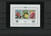 belgium flora mint never hinged  stamps sheet ref r9520