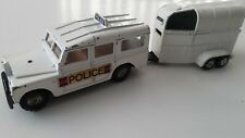 Corgi Police Gift Set 92450 LandRover 109WB & Beaufort Double Horse Box (Rice)