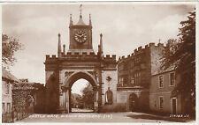 Castle Gate & Clock, BISHOP AUCKLAND, County Durham RP