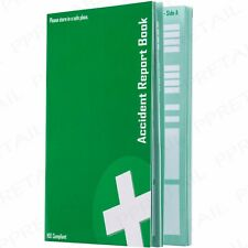 ACCIDENT REPORT BOOK HSE Compliant GDPR Data Protection 1998 RIDDOR 20 Page A5