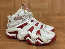 VTG🔥 Adidas Kobe Crazy 8 White Varsity Red Worn Basketball Shoes Sz 11 772509