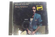 Honra y Cultura by Willie Colon (CD, Jun-1991, Discos CBS)