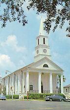 postcard USA  Florida  Tallahassee First Presbyterian Church unposted
