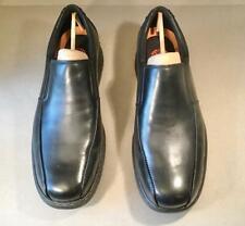 DUNHAM  Men's Blair Black Leather Slip-On Comfort Dress Shoes SIZE 13, 2E, New