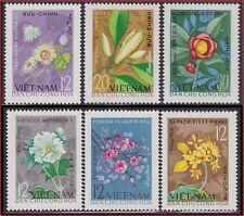 VIETNAM du NORD N°363/368(*) Fleurs, 1964 North Vietnam NGAI
