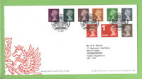G.B. 2013 definitives on Royal Mail First Day Cover, Tallents House