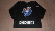 Montreal Rocket Black CCM Men's Size XL LHJMQ QMJHL CHL Practice Hockey Jersey
