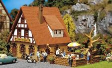 FALLER Zur Krone Inn w/ Beer Garden Model Kit III HO Gauge 130314