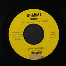 "Blueblood: short mini dress / guitar king Dharma 7"" Single"