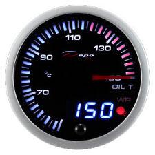 Calibrador de presión Herramienta 60mm DEPO Temperatura Aceite 50-150°C Alarma