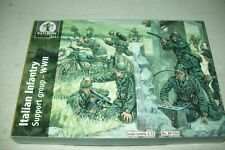 WATERLOO WW2 ITALIAN INFANTRY SUPPORT GROUP  1:72 scale  figures