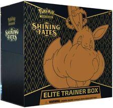 More details for pokemon shining fates elite trainer box etb tcg cards brand new & sealed