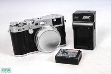 Fujifilm X100F Digital Camera, Silver {24.3 M/P}