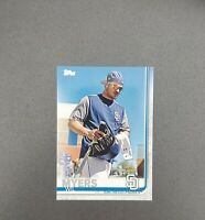 2019 Topps Series 2 SP Photo Variation #485 WIL MYERS - SAN DIEGO PADRES