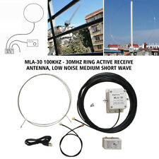 MLA-30 100kHz-30MHz Ring Active Receive Antenna Low Noise Medium ShortWave