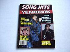 WHITESNAKE David Coverdale rare SONG HITS magazine 1988 HEART Whitney Houston