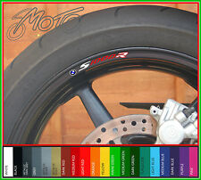 8 x BMW S1000R wheel rim stickers - Choice of 20 Colours - s 1000 r sport