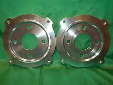 FIAT 500 126 GIANNINI ABARTH COPPIA FLANGE PER FRENI A DISCO