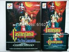 Castlevania the New Generation for Sega MegaDrive system 16 bit MD card