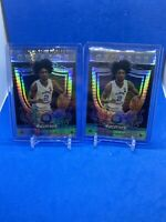 2019 Panini Prizm Drafr Picl White Pulsar /75 Coby White (2) Card Lot
