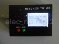 Morse Code Trainer LCD Telegraph Short Wave Radio Station Transmitter CW Auto
