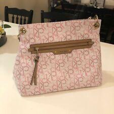 NWOT Calvin Klein Womens Designer Signature Monogram Handbag NEW