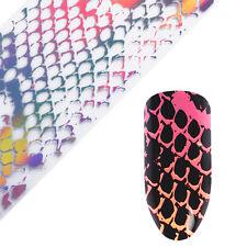 Nagelfolie Nail Art Starry Sky Holographisch Schlangenhaut Nail Foils Stickers