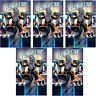 5X BLACK CAT #1 J S CAMPBELL MAIN COVER SET 5 COPIES MARVEL COMICS 2019