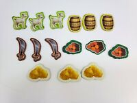 Mayfair Games - Catan Junior, Replacement Resource Tiles, 3 of Each Type