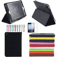 Folio Magnetic PU Leather Smart Cover Stand Case Sleep Wake for iPad Mini 1 2 3