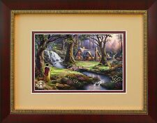 SNOW WHITE  Thomas Kinkade Framed Country Disney Picture Art #01