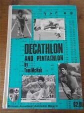 DECATHLON & PENTATHLON 1970s British Amateur Athletic Board Illustrated Photos