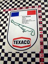 70's Paul Ricard Sticker - Citroen Renault Matra DS 2CV 4 5 12 19 Autocollant