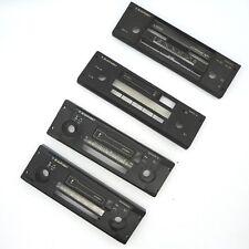 4 x Blaupunkt Cassette Autoradioblende Blende gebraucht aus Lagerauflösung