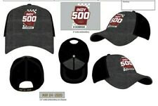 2020 INDY 500 HAT (updated w/new and original date)  Black/Heather Hat