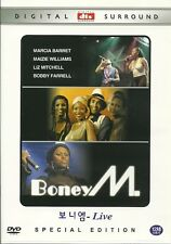 BONEY M  LIVE  NEW