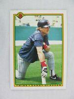 Danny Gladden Minnesota Twins 1990 Bowman Topps Baseball Card 420