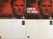 Postcard David Beckham / England / Adidas /World Cup Set Of 2