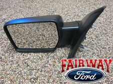 09 thru 10 F-150 OEM Genuine Ford Parts Manual Mirror Left LH Driver