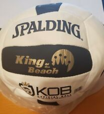 New listing NEW!!! Spalding King of the Beach/USA  Beach Official Tour Volleyball (Deflated)