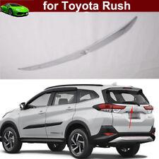 2pcs Chrome Rear Trunk Lid Cover Molding Trim Emblems for Toyota RUSH 2018-2020