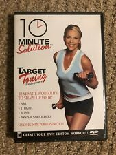 10 Minute Solution: Target Toning For Beginners (DVD, 2004)