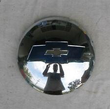 "Vintage Chevrolet Truck 10"" Hub Cap - 1954 - 1955 - Dog Dish - Blue Bow Tie"