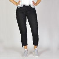 Levi's 721 High Rise Skinny Limited edition Damen schwarz cropped Jeans Größe 27