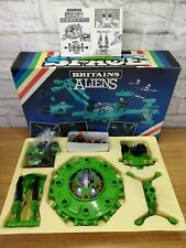 BRITAINS SPACE ALIENS - #9148 Alien Boxed Set from 1982, Complete