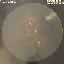 "Muddy Waters - The Best Of - Brand New 12"" Lp Picture Disc Vinyl"