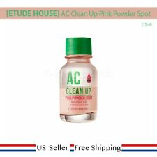 Etude House AC Clean Up Pink Powder Spot 15ml + FREE SAMPLE [US SELLER]